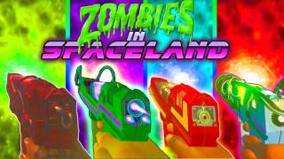 ZOMBIES IN SPACELAND ALL PARTS TUTORIAL! Face Melter | Head Cutter | Shredder | Dischord |