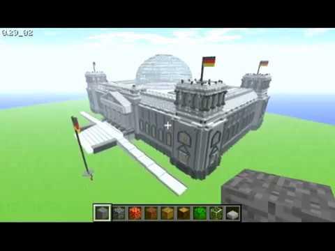 The Reichstag in Minecraft