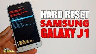 Aplicando o hard reset no Samsung Galaxy J1 SM J120 formatar resetar