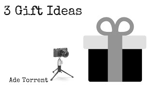 3 Affordable Photography Gift Ideas for the holidays - Christmas 2015
