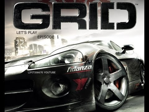 Lets play Race Driver GRID 01 De Bon debut