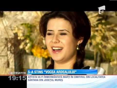 Cantareata de muzica populara Ramona Fabian a murit in urma unui accident auto