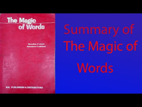 a poem about magic summary