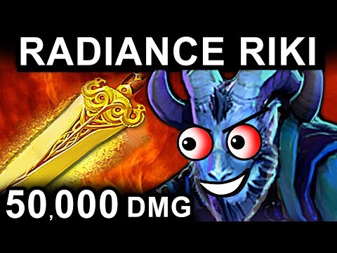 RADIANCE RIKI DOTA 2 PATCH 7.06 NEW META PRO GAMEPLAY
