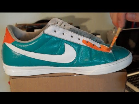 How to Paint. Restore. and Customize Shoes!! Do it Yourself Tutorial