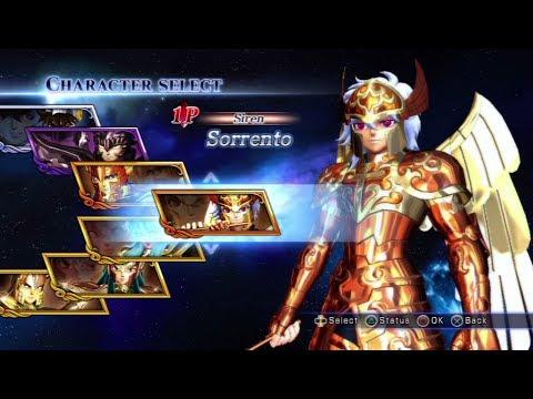 Saint Seiya: Sanctuary Battle All Characters (Including DLC) [PS3]