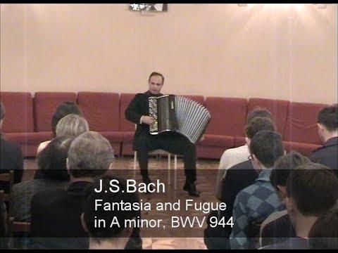 Бах Иоганн Себастьян - BWV 944 - Фантазия и фуга  (ля минор)