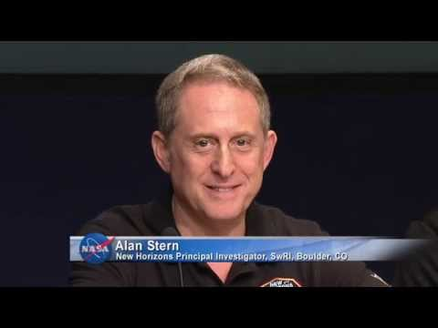 NASA News Conference on the New Horizons Mission