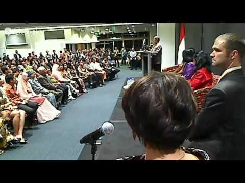 Pertemuan Presiden Joko Widodo dengan Warga Indonesia di Brisbane, Australia