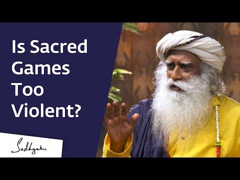 How Sex & Violence on TV Is Affecting Our Children – Sadhguru on Sacred Games