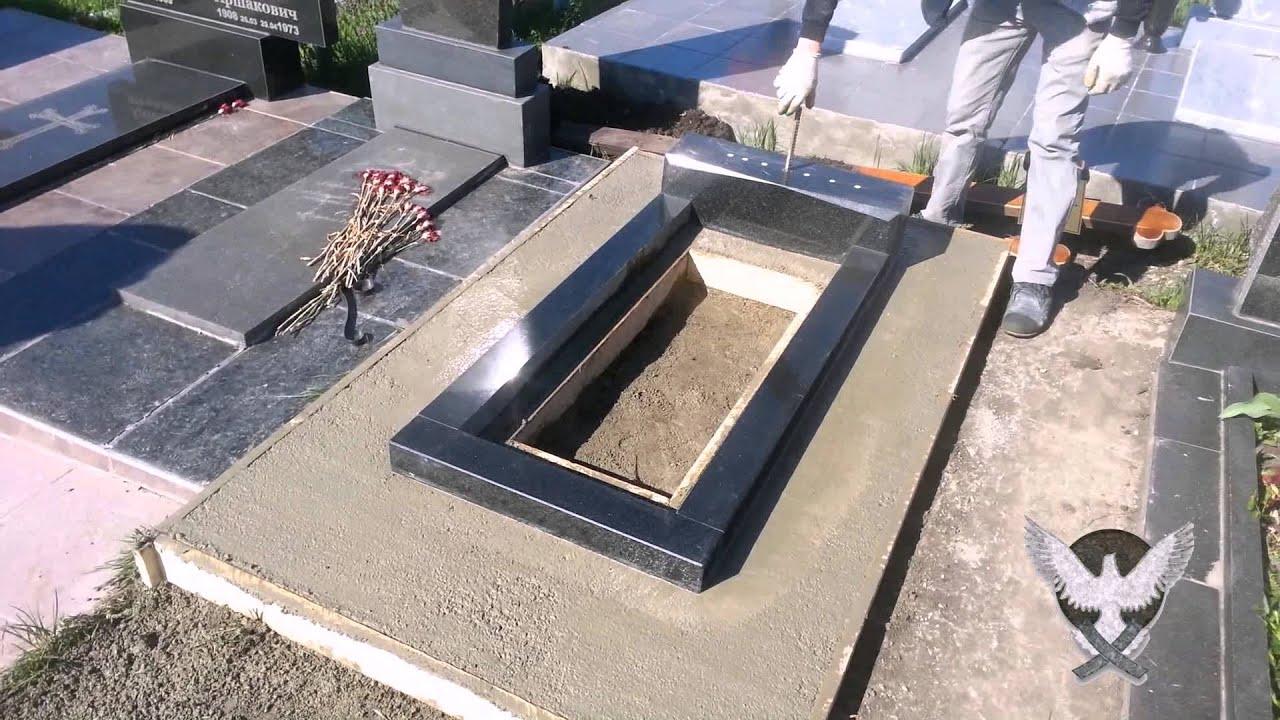 Надгробница своими руками