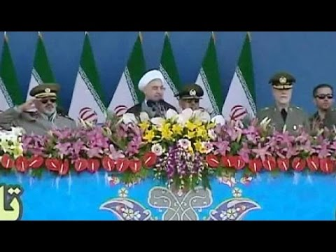 Hassan Rouhani: Iran is not making weapons of mass destruction - no comment