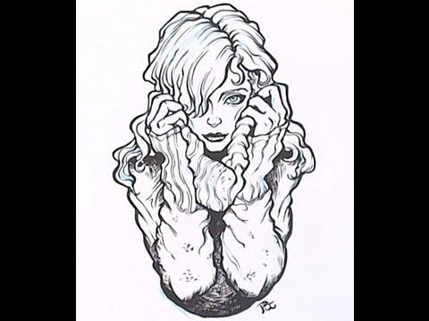 Apprendre a dessiner a l encre de chine - Dessin new school ...