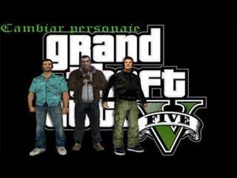 GTA San Andreas - Descargar e instalar el Mod Cambiar Personaje Estilo GTA V - Beta