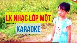 Liên Khúc Karaoke Nhạc Lớp 1 Dành cho Trẻ Tập Hát - Video Bé Nhảy Vui Nhộn