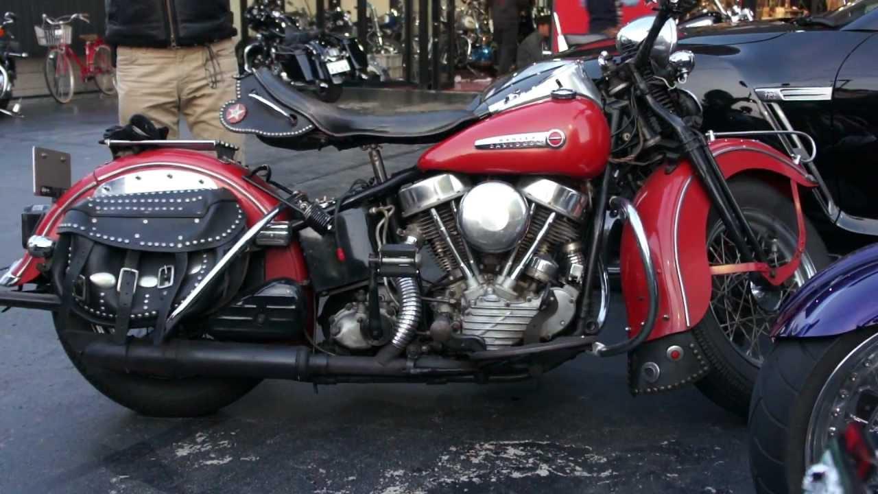 Harley Davidson Panhead Engine