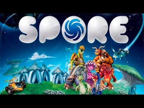 Spore Симулятор создания Жизни #1 Выход обычной клетки на Сушу