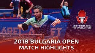 Bojan Tokic vs Zhu Linfeng | 2018 Bulgaria Open Highlights (Group)