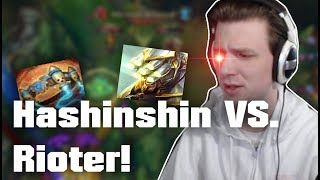Hashinshin argues with RIOTER about Bruisers and Mages!