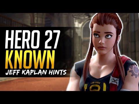 Overwatch HERO 27 KNOWN ALREADY says Jeff Kaplan - Top Candidates Breakdown
