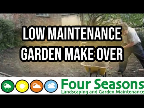 Low maintenance garden make over by four seasons oxford for Creating a low maintenance garden