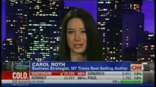 Carol Roth Piers Morgan on Rick Santorum Sweeping Romney, GOP primary CNN