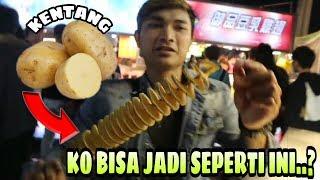 kentang goreng spiral di taiwan ngantri....!!!