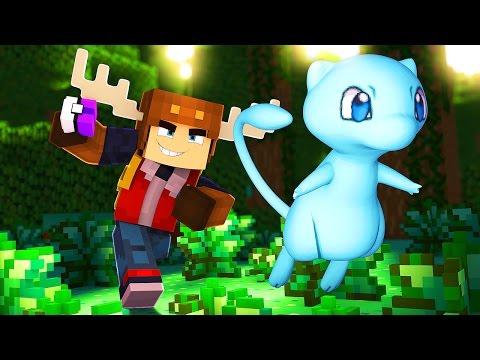 CATCHING SHINY MEW IN POKEMON GO! (Minecraft Roleplay)