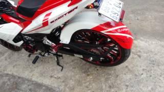 Exciter 150 Đồng Tháp lắp đồ chơi xe tại Hoàng Trí shop -Đt: 0909503025