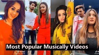 Popular Videos of Musically 2019 | Team 07, Manjul, Jannat, Avneet, Aashika, Mrunal