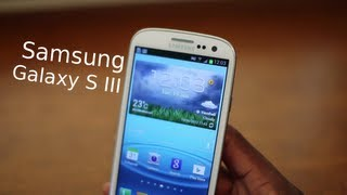 Samsung Galaxy SIII Impressions!