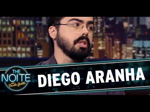 The Noite (19/08/14) - Entrevista com Diego Aranha