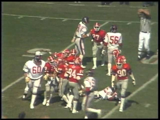 Georgia vs. Ole Miss game - 1980 Dawgs