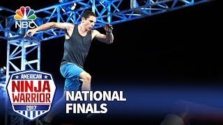 Josh Levin at the Las Vegas National Finals: Stage 1 - American Ninja Warrior 2017