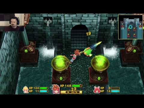 Secret of Mana (2018) playthrough pt24 - Time For Some Grinding!