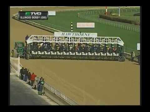 2013 Illinois Derby - Departing