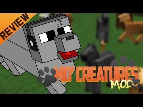 Minecraft para PC:Mo Creatures Mod para 1.4.5. como Instalar y Review!! (Forge)