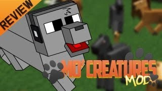 Minecraft para PC:Mo Creatures Mod para 1.4.5, como Instalar y Review!! (Forge)