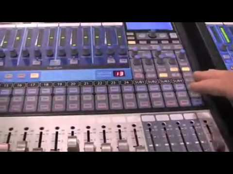 The new PreSonus StudioLive digital console at NAMM 2010