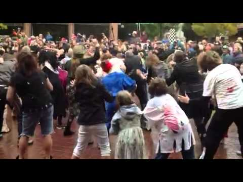 Thriller flashmob, Eugene, or