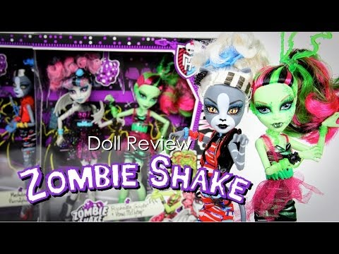 Doll Review: Monster High Zombie Shake   plus Doll Giveaway