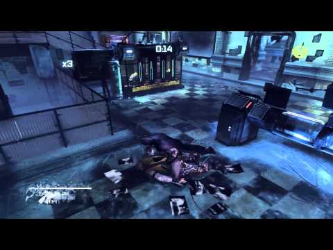 Batman Arkham City [Police Brutality] Predator Challenge Walkthrough as Batman 42.23