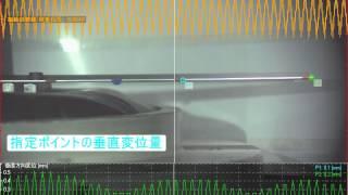 ハイスピードカメラ+データロガー 「プレートの共振解析」
