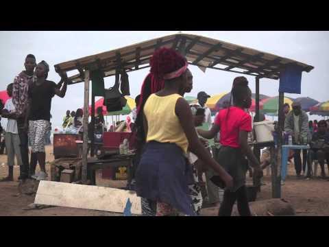 Un dimanche à la Côte Sauvage (Pointe Noire -Congo)