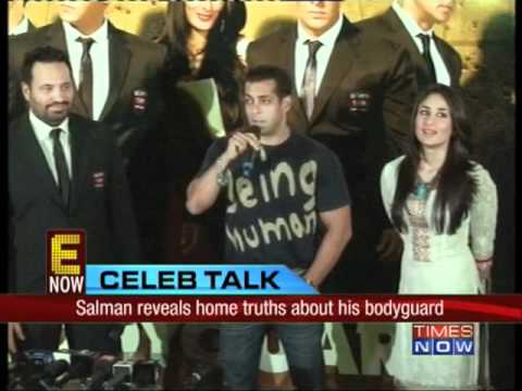 Salman reveals home truths about his bodyguard