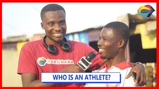 WHO IS AN ATHLETE? | Street Quiz | Funny Videos | Funny African Videos | African Comedy