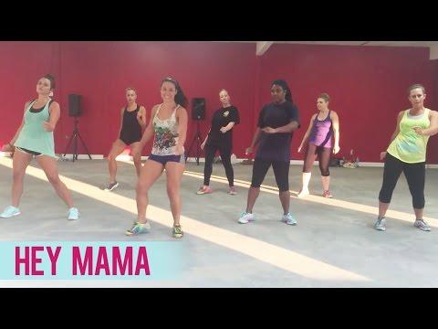 David Guetta - Hey Mama ft. Nicki Minaj, Bebe Rexha & Afrojack (Dance Fitness with Jessica)