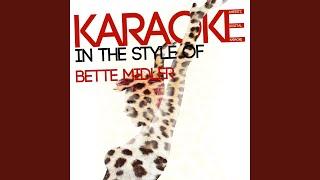 Boogie Woogie Bugle Boy Karaoke Version