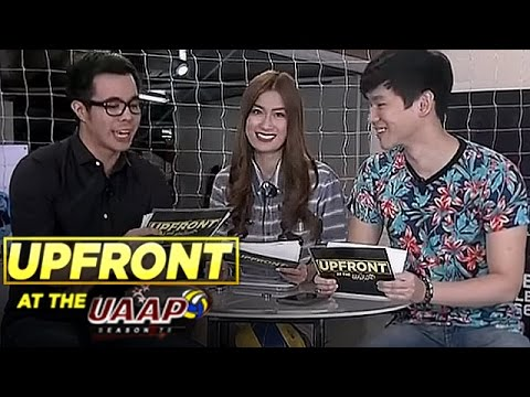 UAAP Upfront: Fashionable Volleyball Player