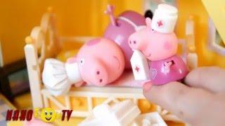 Игрушки из мультфильма Пеппа, приключения свинки